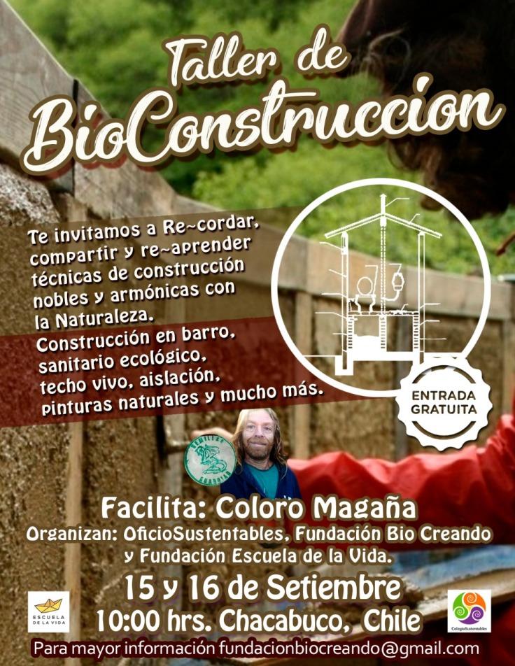 Taller bioconstrucción